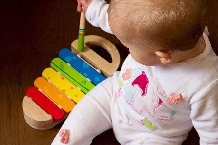 音樂幫助寶寶發展