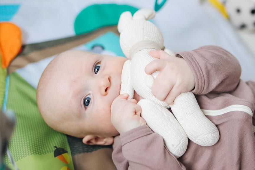 七個月寶寶吃娃娃