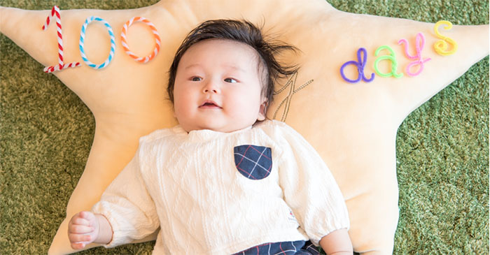 三個月嬰兒
