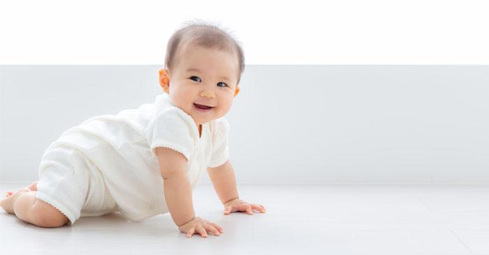 拍攝寶寶的笑容